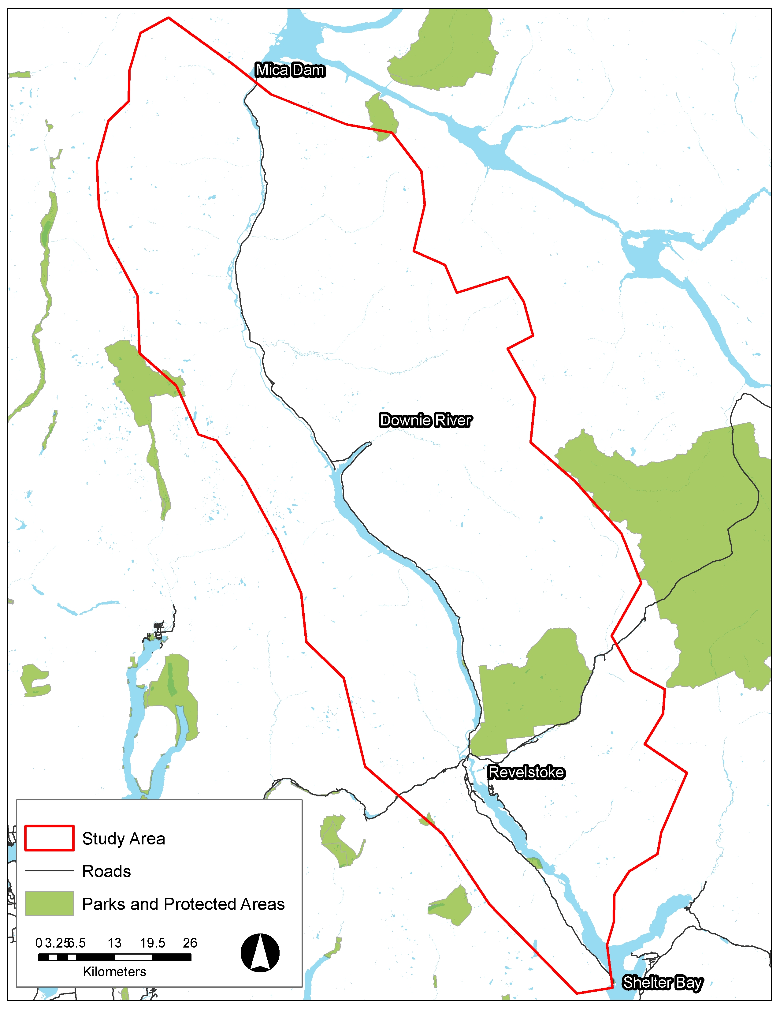 Dams On The Columbia River Map on